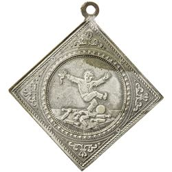 HANNOVER: AE medal (11.82g), 1891, 5th German Bowling Festival in Hannover, AU