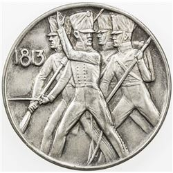 GERMANY: Wilhelm II, 1888-1918, AR medal, 1913, 100th Anniversary of the Liberation Wars by Lauer, A
