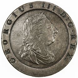 GREAT BRITAIN: George III, 1760-1820, AE 2 pence, 1797. VF