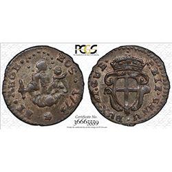 ITALIAN STATES: GENOA: Republic, BI 8 denari, 1773. PCGS MS63