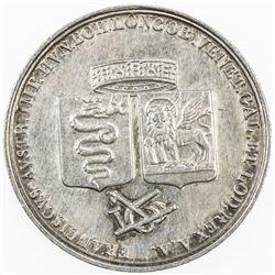 ITALIAN STATES: MILAN: Franz II, 1792-1806, AR medalet (3.98g), 1815. EF