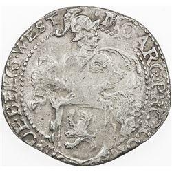 WEST FRIESLAND: AR 1/2 leeuwendaalder (10.61g), 1624, VF-EF