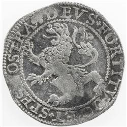 NETHERLANDS: WEST FRIESLAND: AR 48 stuivers (lion daalder) (27.17g), 1604. VF