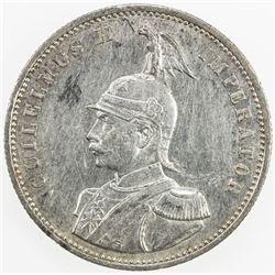 GERMAN EAST AFRICA: AR rupie, 1890. EF-AU