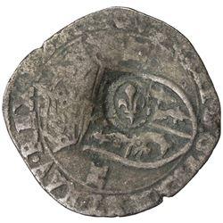 CANADA: Louis XIII, 1610-1643, AR sol de quinze (2.27g), ND (1640). VF