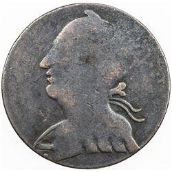CANADA: AE halfpenny token (5.23g), ND [ca. 1835], Charlton-BL-7, blacksmith token, Fine.