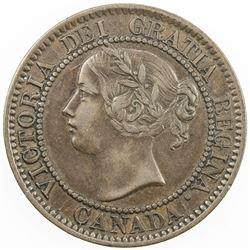 CANADA: Victoria, 1837-1901, AE cent, 1859. VF