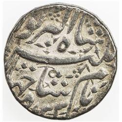 MUGHAL: Jahangir, 1605-1628, AR rupee (11.40g), Lahore, AH1033 year 19. VF