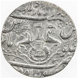 AWADH: Ghazi al-Din Haidar, 1819-1827, AR rupee (11.00g), Lucknow, AH1234 year 26. EF