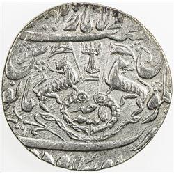 AWADH: Ghazi al-Din Haidar, 1819-1827, AR rupee (11.09g), Lucknow, AH1235 year 1 (ahad). EF