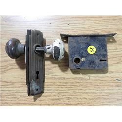 DOOR KNOBS (W/STRIKER PLATES) & HARDWARE