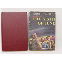 LOT OF 2 BOOKS (THE SIXTH OF JUNE - LIONEL SHARPIRO & EMIL & THE DETECTIVES - ERIOCH KASTNER) *1955