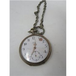 POCKET WATCH (VIKING) W/FOB