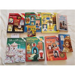 GUIDE BOOKS *ANTIQUE* (QTY 9)