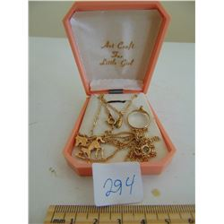 ART CRAFT JEWELRY SET (FOR LITTLE GIRL)
