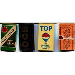 CIGARETTE PAPERS (HALF-HALF, REYNOLDS, TOP, ETC)