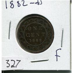 1882 CNDN LARGE 1 CENT PC