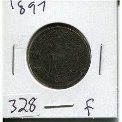 1897 CNDN LARGE 1 CENT PC