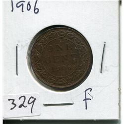 1906 CNDN LARGE 1 CENT PC