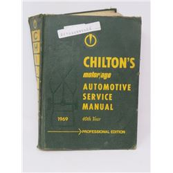 AUTOMOTIVE MANUAL (CHILTON) *1969* (FROM AMERICAN MOTORS TO VOLKSWAGEN)