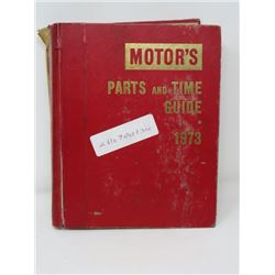 AUTOMOTIVE MANUAL (MOTOR'S) *1973* (FROM AMERICAN MOTORS TO WHITE TRUCK)