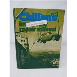 AUTOMOTIVE IMPORT REPAIR MANUAL (CHILTON) *1973* (FROM AUDI'S TO VOLVO'S)