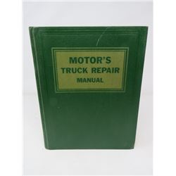 AUTOMOTIVE MANUAL (MOTOR'S) *1966* (TRUCKS & DIESEL ENGINES)
