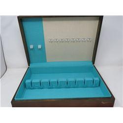CUTLERY BOX (WOOD NICE SHAPE-EMPTY)