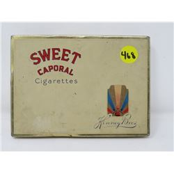 CIGARETTE TIN (SWEET CAPORAL)