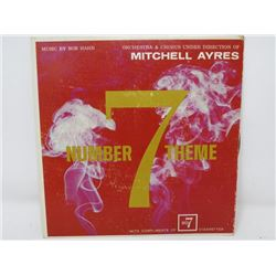 45 RPM RECORD (NUMBER 7 CIGARETTES THEME) *DIRECTED BY MITCHELL AYRES*