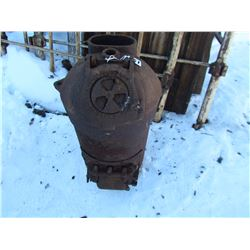 "CAST HEATER (24"" H, 14"" W,) *#40 BRICK LINED* (SPENCER FOUNDRY CO. , PENETANG, ON)"