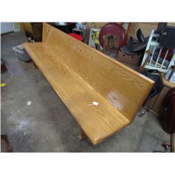 8 FOOT BENCH (HUTTERITE) *HOMEMADE*