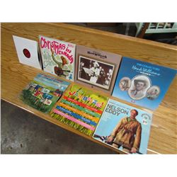 LOT OF 5 COUNTRY MUSIC RECORDS (2 HANK WILLIAMS, 1 TEX RITTER, ETC)