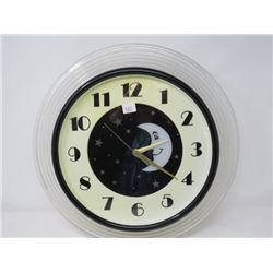 DINER WALL CLOCK *WORKING*