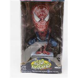 "SPIDER-MAN ""HEAD KNOCKERS"" BOBBLEHEAD (NECA, 2002) *M./IN BOX*"