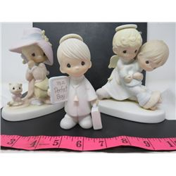 LOT OF 3 FIGURINES (PRECIOUS MOMENTS)