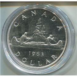 1963 CNDN SILVER DOLLAR