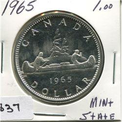 1965 CNDN SILVER DOLLAR