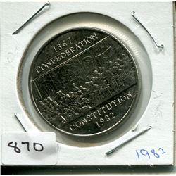 1982 CNDN DOLLAR PC (CONFEDERATION)