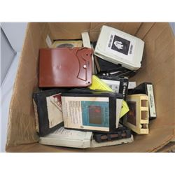 LARGE QTY OF 8 TRACK TAPES 'GREASE' & 'BLOOD SWEAT & TEARS'