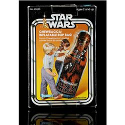 Lot # 2: Chewbacca Inflatable Bop Bag - Sealed [Kazanjian
