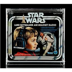 Lot # 8: Luke Skywalker AM Headset Radio - Unused