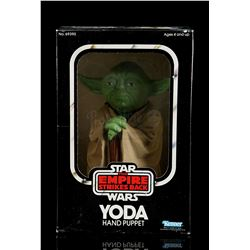 Lot # 14: Yoda Hand Puppet [Kazanjian Collection]