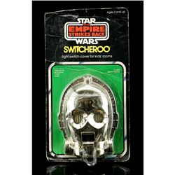Lot # 16: C-3PO Switcheroo Light Switch Cover [Kazanjian