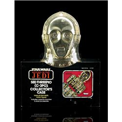 Lot # 22: See Threepio (C-3PO) Collector's Case - Sealed