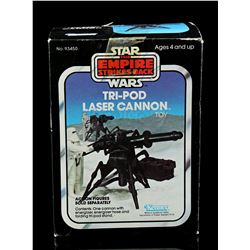 Lot # 47: Tri-Pod Laser Cannon Toy - Sealed [Kazanjian Co