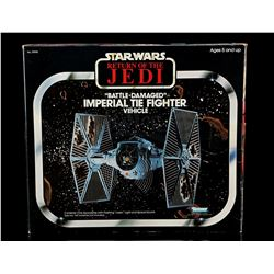 Lot # 50: Battle-Damaged Imperial TIE Fighter - Sealed [K