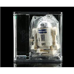 Lot # 73: Takara Wind-Up Walking R2-D2 In Baggie AFA 85 [