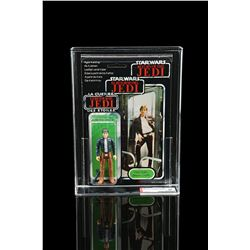 Lot # 98: Palitoy Han Solo (Bespin Outfit) Tri-Logo70B AF