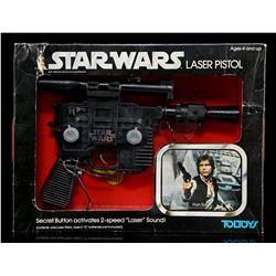 Lot # 102: Toltoys Han Solo Laser Pistol